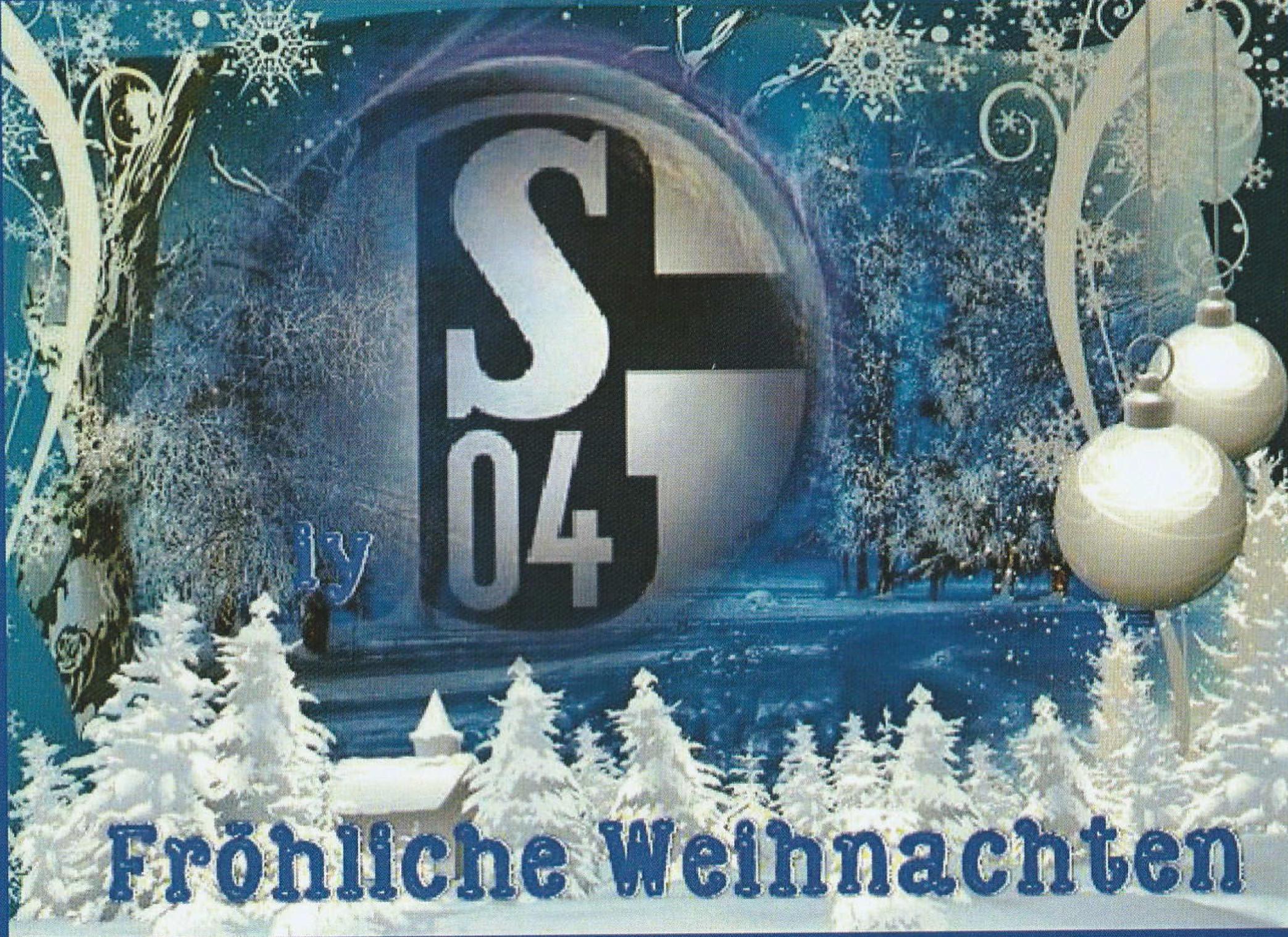 Schalke Bilder Weihnachten.Frohe Weihnachten Fan Club Fc Schalke 04 Diersfordt